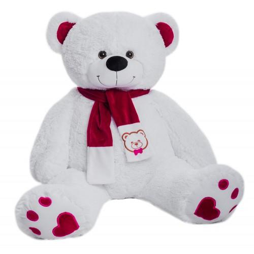 Медведь Кельвин В130 белый (МК/70/31)