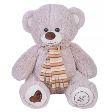 Медведь Фреди В65 светло-серый  (МФРЕ/38/72)