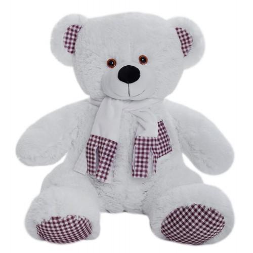 Медведь Тоффи В85 белый (МТоф/40/31)