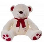 Медведь Кельвин В230 молочный МК13052