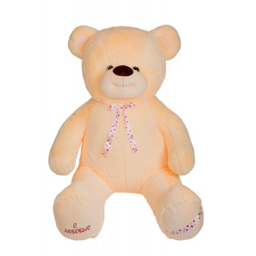 Медведь Захар В226 персиковый (МЗ/130/58)