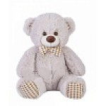 Медведь Тоффи В65 светло-серый МТоф3872