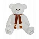 Медведь Самсон В185 белый МС10031