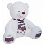 Медведь Мартин В220S  белый ММS13031
