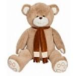 Медведь Самсон В185 кофейный МС10082