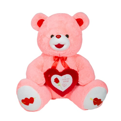 Медведь Ника В170 розовый (МН/100/125)