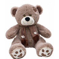 Медведь Тони с шарфом В85 бурый (МТШ/45/78)