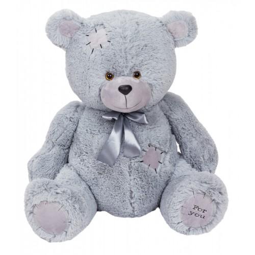 Медведь Бомж В110 серый (МБ/60/79)