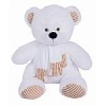 Медведь Тоффи В110 белый МТоф7031