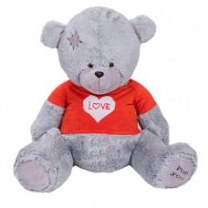 Медведь Бомж В140 серый (МБ/80/79)