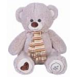 Медведь Фреди В65 светло-серый  МФРЕ3872