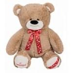 Медведь Захар В105 кофейный МЗ6082