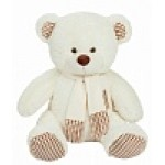 Медведь Тоффи В110 молочный МТоф7052